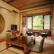 和室8畳のお部屋(正方形)