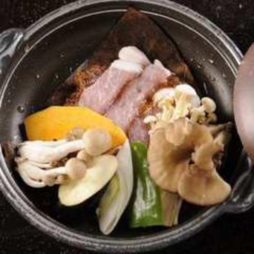 豚肉のほう葉味噌焼き(正方形)