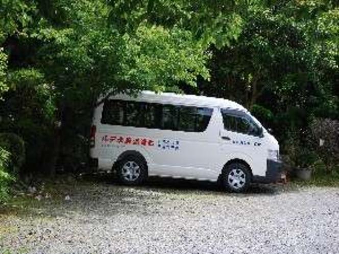 送迎用バス、河津駅~七滝温泉(要予約)