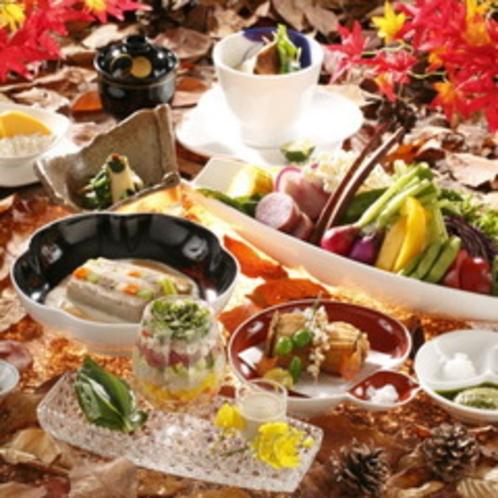 味わい深く実りの秋をふんだんに詰め込んだ『秋のご夕食一例』(※写真はイメージです。)
