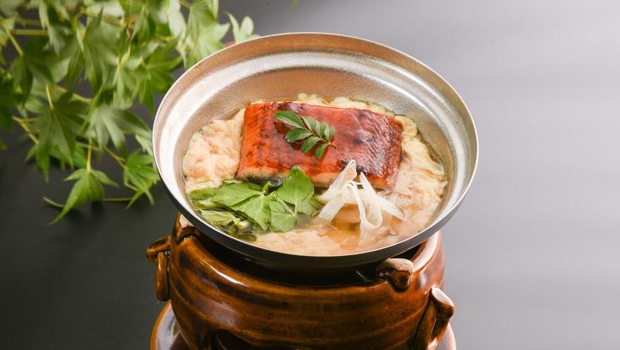 台の物_鰻柳川鍋
