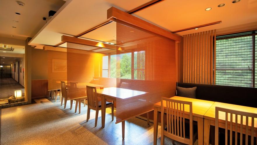 全てのお席が個室又はパテーションで仕切った半個室となっております。(レストラン早川)