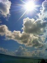ギラギラ太陽!