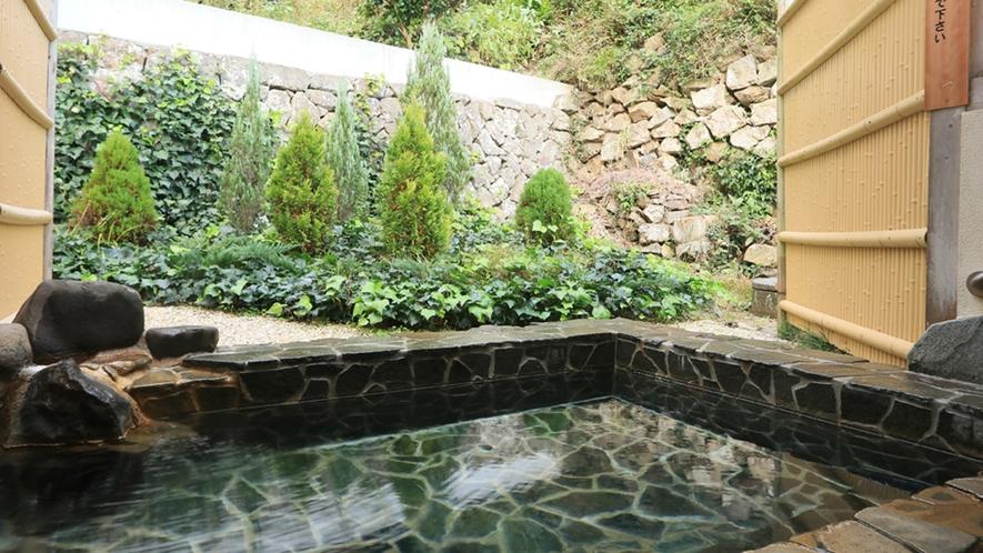 ◆足を伸ばしてゆったり入れる心地よい露天風呂です♪
