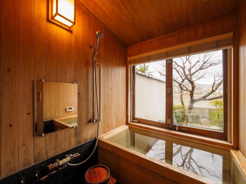 鴨川庵 ヒノキ風呂2