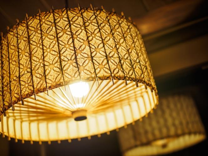 松見庵の照明