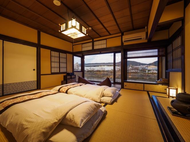 鴨川庵 主寝室2