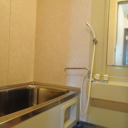 ◆浴室(24時間利用可能。もちろんお湯は温泉です☆)