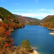 ◆東仙峡金山湖