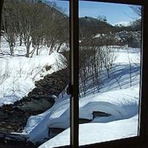 *2階窓からの景色(冬)