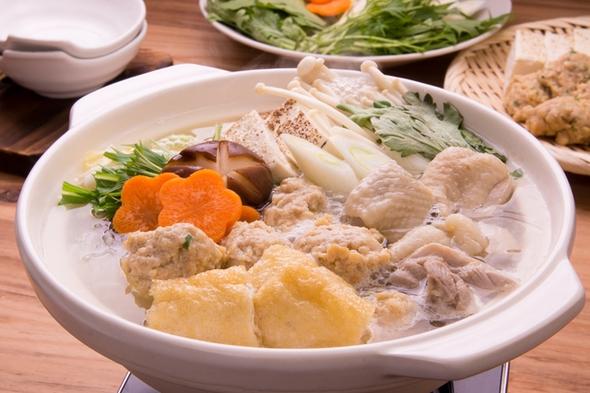 【ちゃんこ鍋プラン】元力士(玉ノ井部屋)のちゃんこ大鍋がメインの夕食+たきたてうるぎ米の和朝食