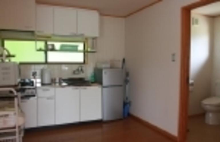 客室:キッチン