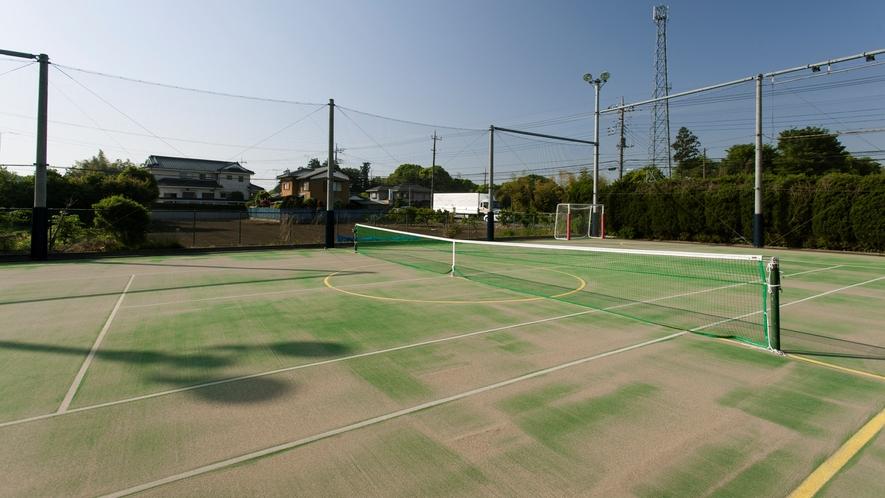 テニスフットサル兼用コート