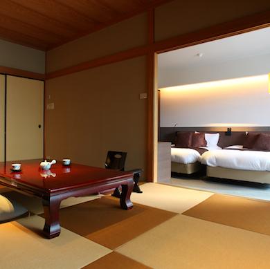 【ざぜんそう】63.75平米のゆとりある和室とベッドルームで寛ぎの<箱根の休日>を。