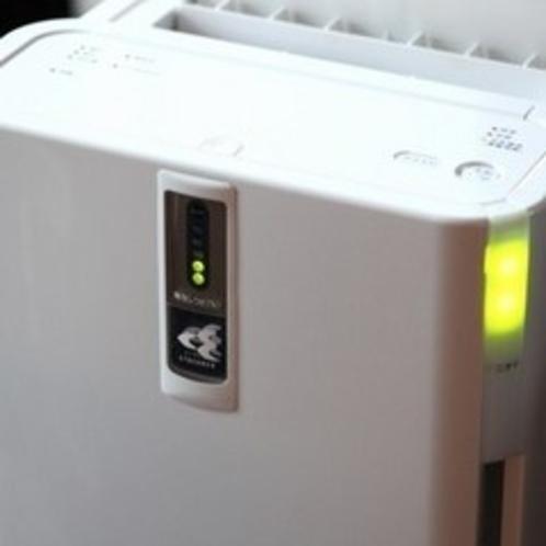 加湿機能付き空気清浄器 消臭もできます