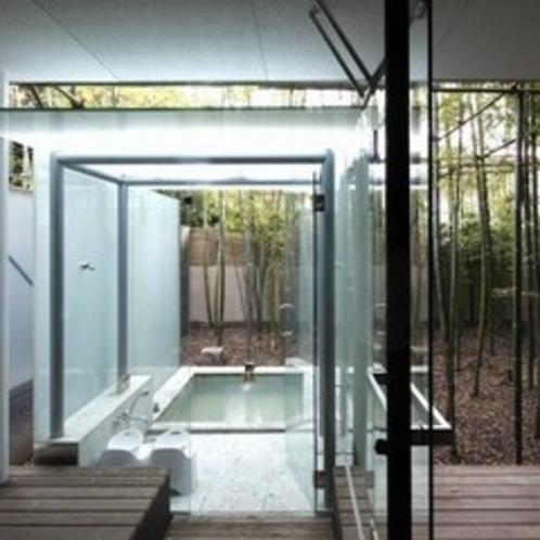 はまなす_竹林に囲まれた露天風呂が魅力