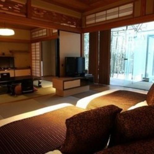 【すずらん&はまなす】ベッドルームには琉球畳を使用