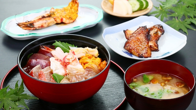 海鮮丼◆目利き旦那がセレクトした名物丼ぶり!新鮮な魚介を最高の食べ方で♪