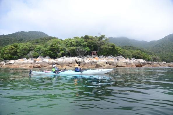【宮浜発!シーカヤック付プラン】宮島西海岸の大自然を満喫!◆歴史と自然を五感で感じる海上散歩!