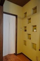 217号室の壁