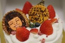 祝いケーキ