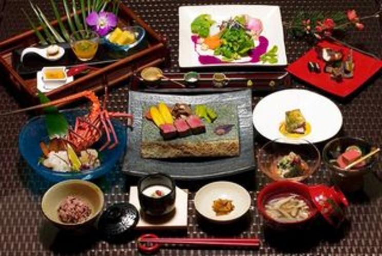 【ディナー】和琉会席 (ディナータイム18:00〜22:00)