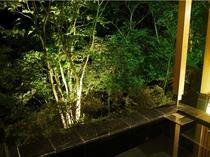 樹-夜間-