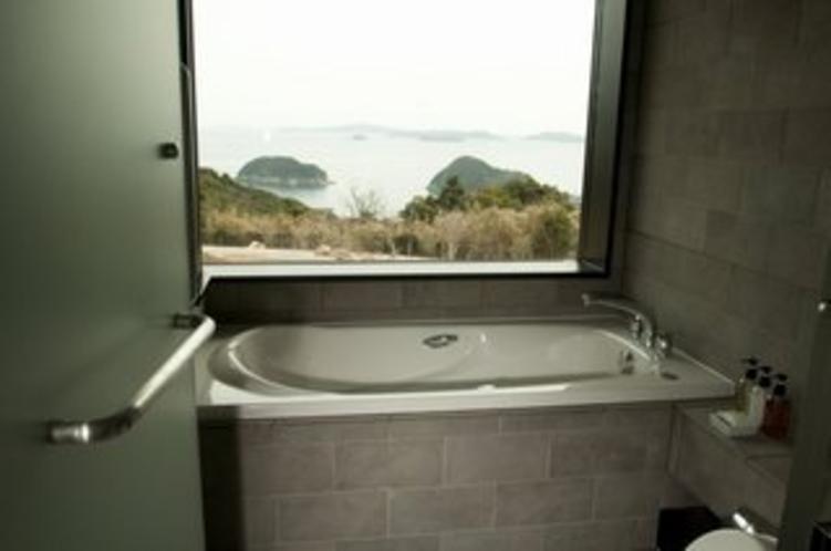 デラックス、スイートの浴室