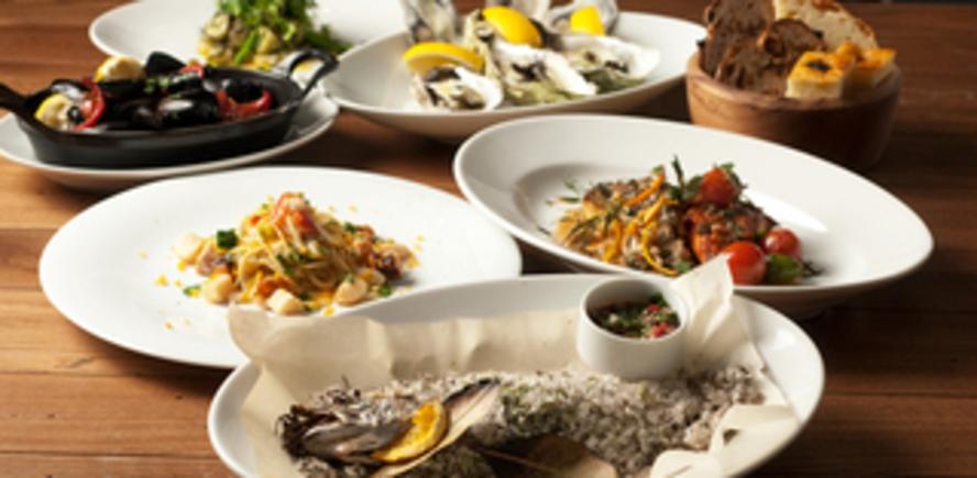 五島の魚介と野菜でつくる優しいイタリアン