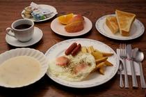 朝食例 洋食