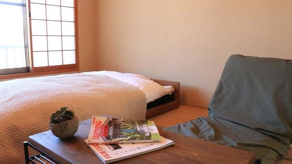 和室8畳(2食プラン用ベッド付き)