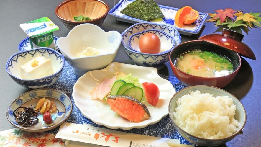 <朝食>健康的な和定食で朝の活力になること間違いなし!