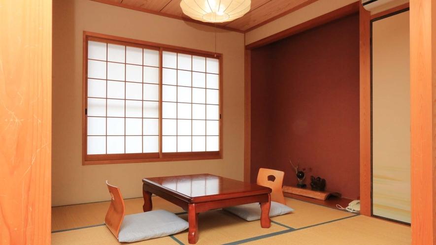 <和洋室>和室5畳・セミダブルベットルーム(バス・トイレ付)