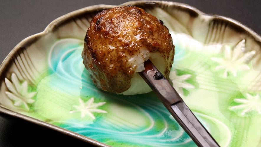 【會津の郷土料理】名物料理!しんごろう 囲炉裏で焼いたカリっと香ばしい食感