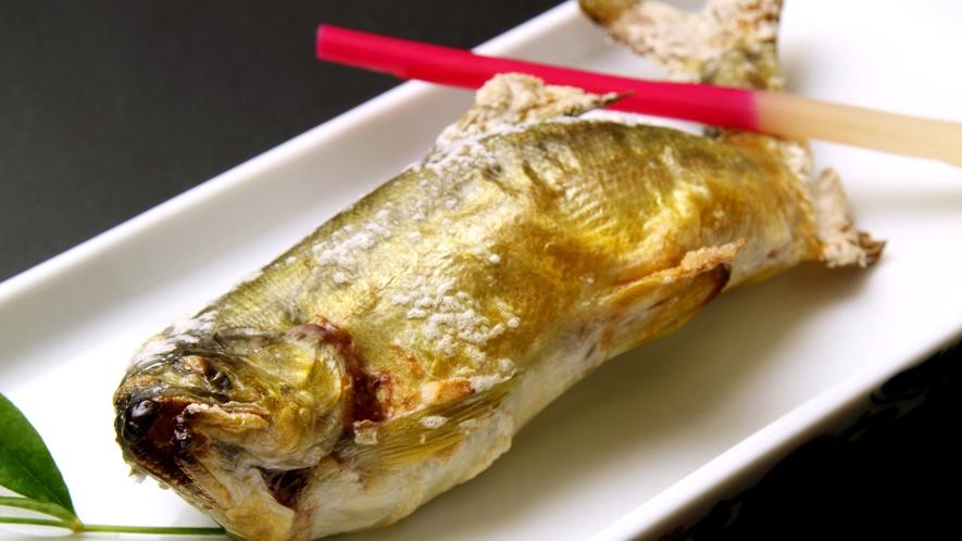 【會津の郷土料理】鮎の塩焼き