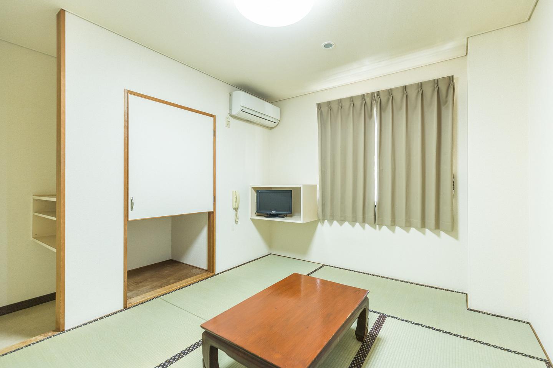 和室2人部屋(バス・トイレ無し)