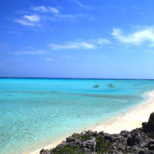 青い空、青い海!!海を満喫するなら、与論が一番♪