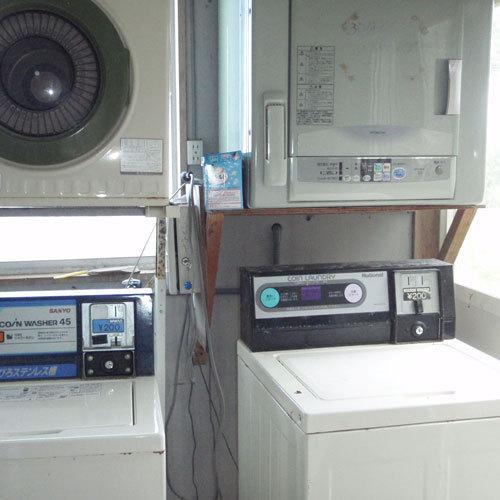 コインランドリー(洗濯機・乾燥機)がございます!(各有料)