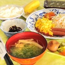 【朝食一例】朝食をしっかり食べて与論観光をお楽しみください