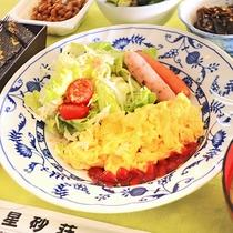 【朝食一例】あたたかい与論の家庭料理