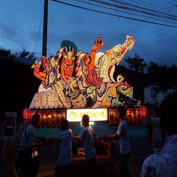 浅虫ねぶた祭り