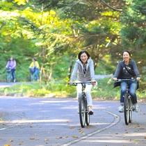 【サイクリングロード】1周6.15kmです