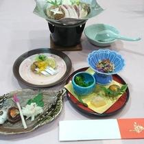 【お正月特別夕食一例】