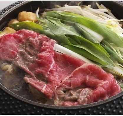 京野菜たっぷりすき焼きをお部屋で♪朝食なしなので朝までお寝坊さん(*^_^*)