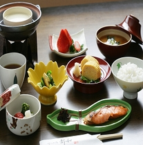 【別邸】 朝食