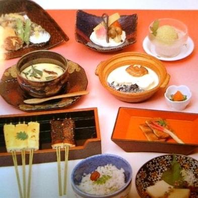 【豆腐会席】体が喜ぶ!バラエティに富んだヘルシーな豆腐料理は女性に人気♪