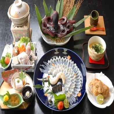 【名鉄海上観光船20%OFF】◆和-nagomi◆日間賀島冬を味わう!ふぐスタンダードコース