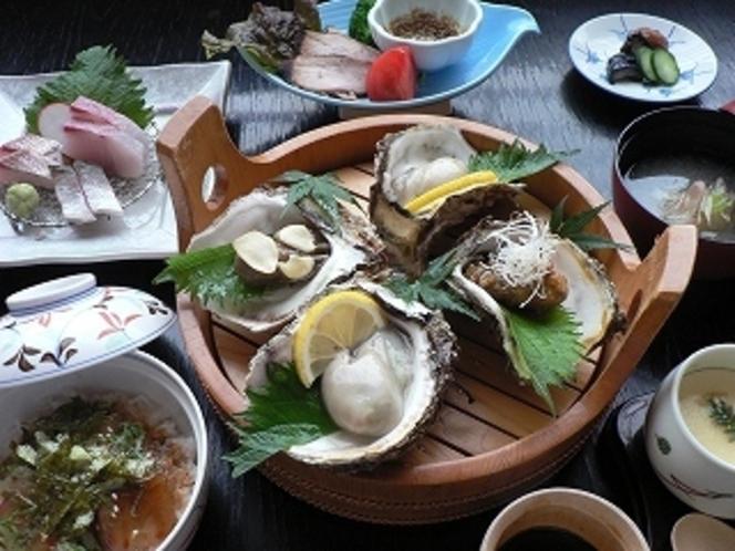 岩牡蠣御膳(初夏〜夏)