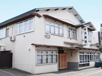 【旅館外観】料理自慢の老舗旅館です。