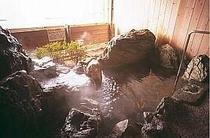 別館の天然温泉の露天風呂